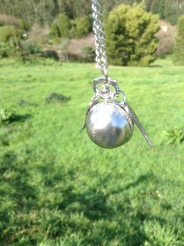 It's a silver Snitch
