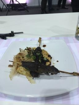 Okonomiyaki for main