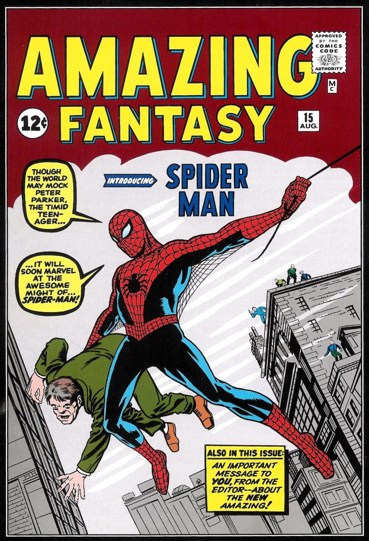 Spiderman cover